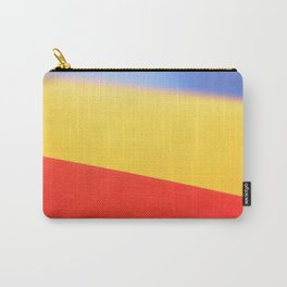 Blue Yellow & Red Carry-All Pouch