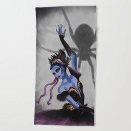 Spider Dancer Beach Towel