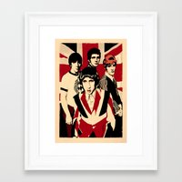 the who Framed Art Prints featuring wHO? by f_e_l_i_x_x