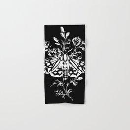 butterfly black Hand & Bath Towel