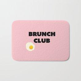 brunch club Bath Mat