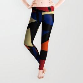 Colorful geometric pattern VII Leggings