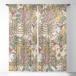 EXOTIC GARDEN XI Sheer Curtain