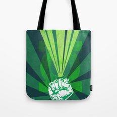 Green Lantern's light Tote Bag