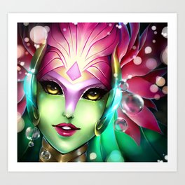 River Spirit Nami Art Print