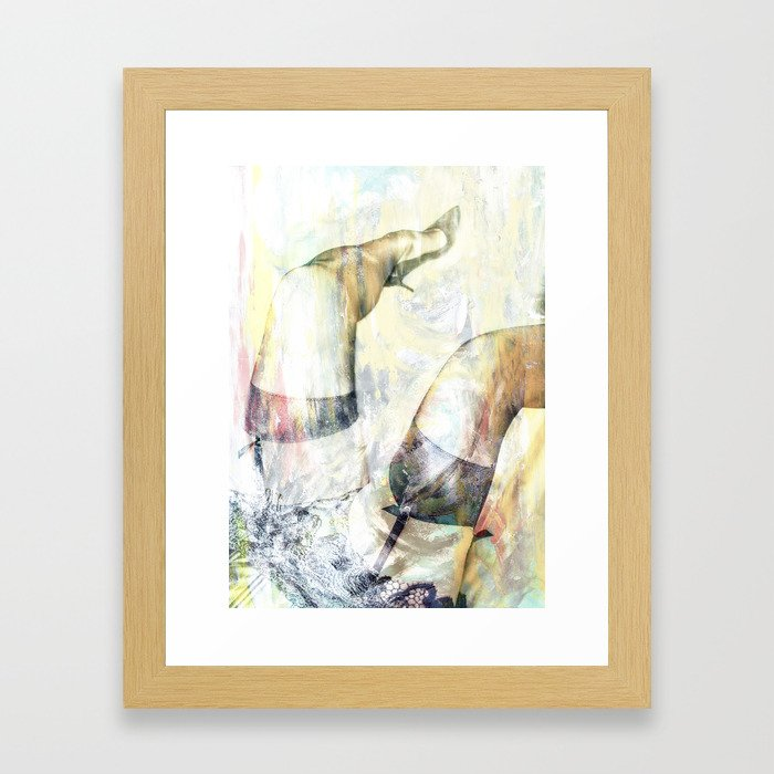 Abstract Love Framed Art Print