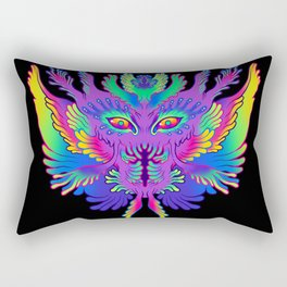 Colorful Alien Critter Rectangular Pillow