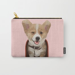 Corgi Delivery Carry-All Pouch