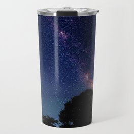 Blood Moon & Galaxy (Color) Travel Mug