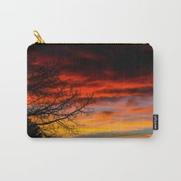 Fire Sunset Carry-All Pouch