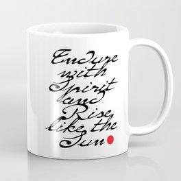 Endure with Spirit Coffee Mug