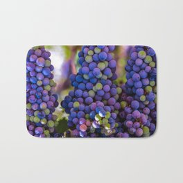 Bunches of Grapes  Bath Mat