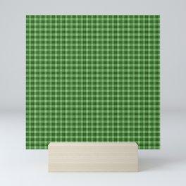 PLAID Green Plaid Mini Art Print