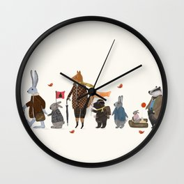 lets all go rambling Wall Clock