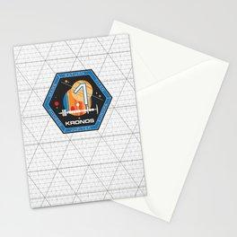 Kronos 1 Official Mission Emblem Stationery Cards