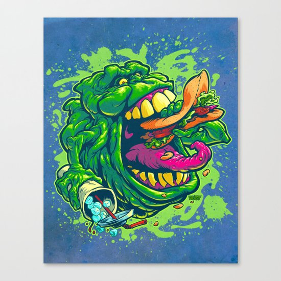 UGLY LITTLE SPUD Canvas Print