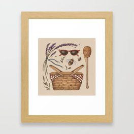Summer Picnic Collection Framed Art Print