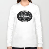 cafe racer Long Sleeve T-shirts featuring Cafe Racer  by Peter G. Brandt