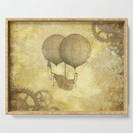 Steampunk Balloon  Serving Tray