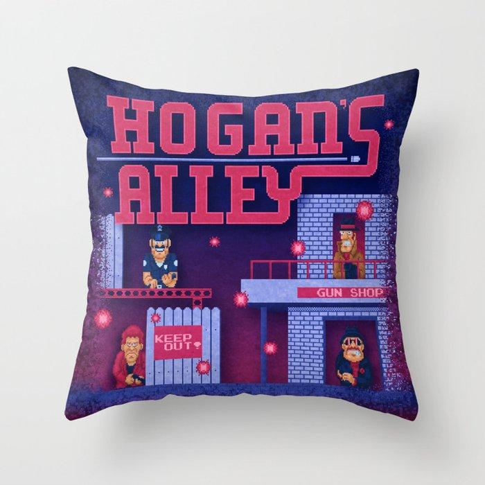 Alley Hogans Throw Pillow
