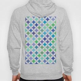 Geometric Star Pattern - Sea Foam #477 Hoody