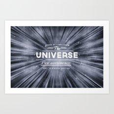 The Universe Crew Art Print