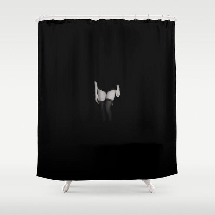 Are You Afraid Of The Dark Shower Curtain