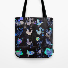Defenseless Chickens Tote Bag