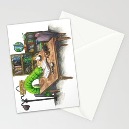 Little Worlds: The Library Stationery Cards