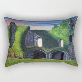 Ancient Celtic Ruins Rectangular Pillow
