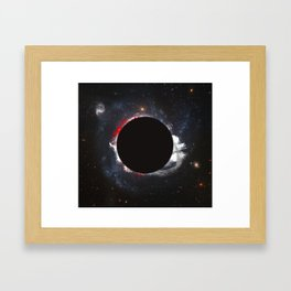 Circle Framed Art Print