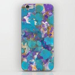 Blue Blossom iPhone Skin