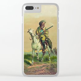 Buffalo Bill Cody - The Scout Clear iPhone Case