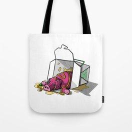 Piggin' Out Tote Bag