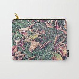 Autumn Leaves Before September Photography Nature Fall Colors Summer #GaneneKPhotography Carry-All Pouch