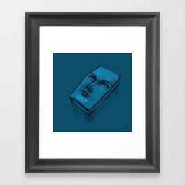 Don't Touch my Face Book - Cian Framed Art Print
