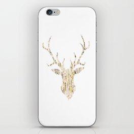Upcycled Reindeer iPhone Skin
