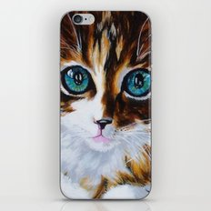 Whiskers the Cat iPhone & iPod Skin