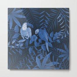 Tropical Paradise Pattern 3 Metal Print