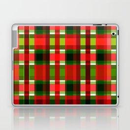Christmas Plaid Laptop & iPad Skin