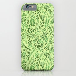 Lemongrass (Essential Oil Collection) iPhone Case