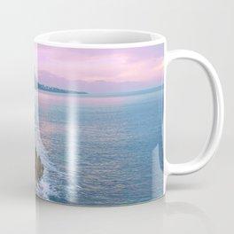 Cefalu Italy Coast Sunset Coffee Mug