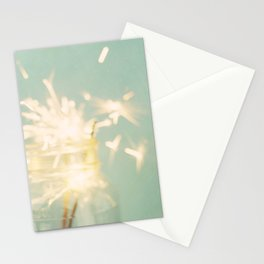 when sparks fly Stationery Cards