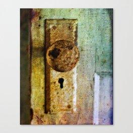 Old School Door Canvas Print