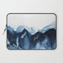 Abstract Indigo Mountains Laptop Sleeve