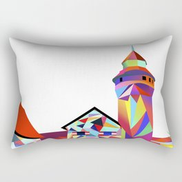 Sinwellturm Nuremberg Rectangular Pillow