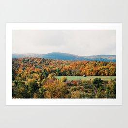 Vermont Views - 35mm Film Art Print