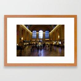 Grand Central Ghosts Framed Art Print