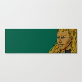 SIRI THE GOLDEN WARRIOR Canvas Print