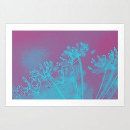 Wonderfall Flowers Art Print